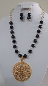 Resultado de imagen para pinterest collar con perlas y cadenas