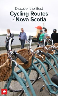 These routes are the perfect way to explore this East Coast paradise on two wheels. Places To Travel, Places To See, Visit Canada, Vacation Destinations, Amazing Destinations, Quebec City, Adventure Is Out There, Nova Scotia, Go Outside