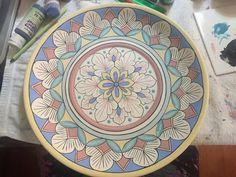 Quase pronto para ir ao forno #prato #ceramica