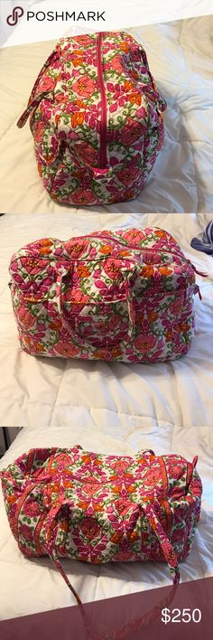 Lilli Bell discontinued pattern! Lilli Bell discontinued pattern! I just got the Disney pattern and don't want this set to go to waste. Grand traveler, large duffel, tote, satchel, wallet, large cosmetic bag! Great condition- used 5 times traveling. Don't need to buy together! Ask questions if needed! Vera Bradley Bags Travel Bags