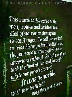 irish potato famine genocide