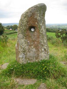 Doagh Holed Stone   County Antrim