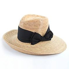 Pilar Hat with Black Bow