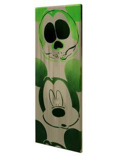 R.I.P. M.I.C.K.E.Y.M.O.U.S.E. Zombie Mickey Mouse by MrMahaffey