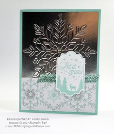 Stampin' Up! Merry Little Labels stamp set and Everyday Label Punch shared by Dawn Olchefske (Linda Bareis) Christmas Staircase, Christmas Wood, Christmas Carol, Christmas Holidays, Card Making Tips, Embossed Cards, Christmas Snowflakes, Paper Pumpkin, Fall Halloween