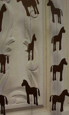 Horse Silhouette Paper Garland  {via Etsy}
