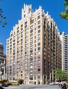 Apartment Building Ghostbusters 55 central park west (dana barrett, apt building), designed