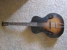 Vintage Harmony Kay Archtop Guitar F holes