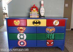 Superhero Dresser Commission
