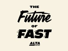 The Future of Fast by Neil Hubert #Design Popular #Dribbble #shots