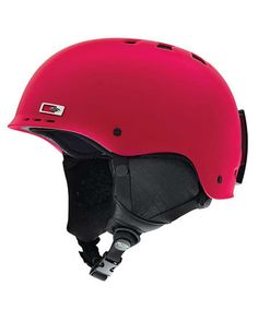 Smith Holt Helmet 2013 (NEON RED) at Snowboard Connection