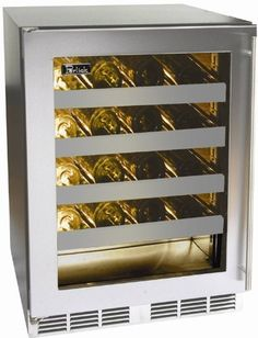 Perlick Panel Ready Built In Wine Cooler HH24WS2R by Perlick. $2149.00. Perlick Panel Ready Built In Wine Cooler HH24WS2R. 32 height with leveling legs. Designed for maximum capacity while adhering to strict 34-inch counterheight ADA-compliant requirements. 18 depth for design flexibility. Zero-clearance hinging allows for abutment with surrounding cabinetry. Best in Class 700 BTU commercial-grade compressor. Front-vented, RAPIDcool forced-air refrigeration syste...