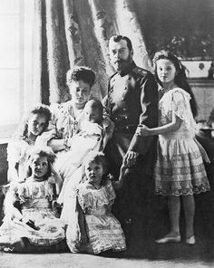 Romanov family, who were murdered on 17 July 1918.