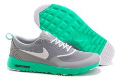 Nike Air Max Thea Women Men Grey Green White