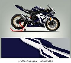 Bike Stickers, Sportbikes, En Stock, Cars And Motorcycles, Royalty Free Stock Photos, Racing, Image, Design, Hs Sports