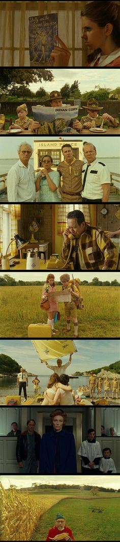 Moonrise Kingdom(2012) Directed by Wes Anderson.