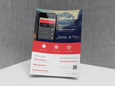 Mobile Application / Phone App flyer