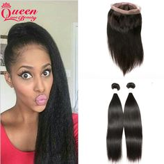 86.67$  Buy here - http://alibtc.worldwells.pw/go.php?t=32755069901 - Peruvian Hair Weave With 360 Lace Frontal Closure 2Pcs 7A Virgin Human Hair Weft With Pre Plucked Natural Line Full Lace Closure 86.67$