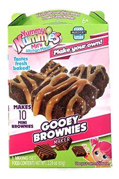 Yummy Nummies Mini Kitchen Magic Gooey Brownies Maker #YummyNummies