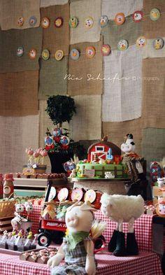 Farm, Barnyard Birthday Party Ideas | Photo 15 of 17