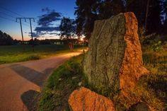 Husby Rune Stone (U74, RAÄ Spånga 80:1) — #runestones