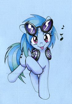 Vinyl Scratch by miszasta