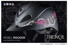 Loving our ad in this weeks issue of Rodeo News. http://www.troxelhelmets.com/products/rebel
