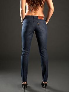 The perfect skinny jeans for girls with a little more muscle!