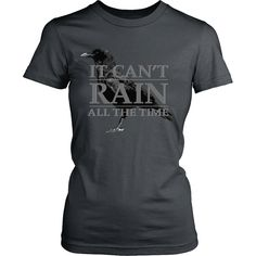 The Crow Inspired - (Grey) It Can't Rain All The Time - Front Design