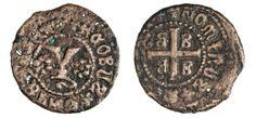 NumisBids: Numismatica Varesi s.a.s. Auction 67, Lot 222 : METELINO ed ENOS GIACOMO GATTILUSIO (1376-1396) Denaro. D/...
