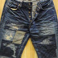 My Jeans, Jeans Pants, Denim Shorts, Edwin Jeans, Vintage Denim, Fashion Wear, Chambray, What To Wear, Boro