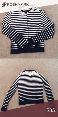 Lilly Pulitzer Striped Cardigan Perfectly Preppy! Lilly Pulitzer Sweaters Cardigans