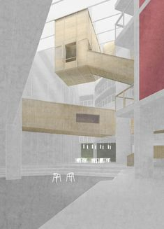 'Atrium' mixed media Titas Grikevicius , University of Strathclyde, Y5, 2015/16