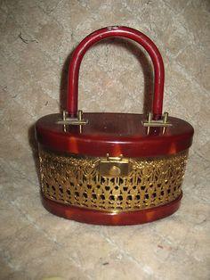 28 Best Vintage Lucite Handbags images  dc47535be73b4