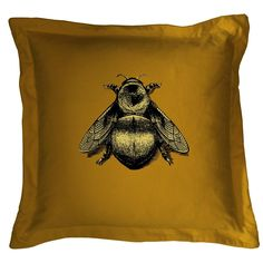The Napoleon Bee cushion in some ways encapsulates the work of Glaswegian design house Timorous Beasties being as it is a collection of simple antecedent parts melded into a sophisticated new whole. Napoleon, I Love Bees, Timorous Beasties, Bee Art, Contemporary Wallpaper, Printed Cushions, Bee Happy, Velvet Cushions, Bees Knees