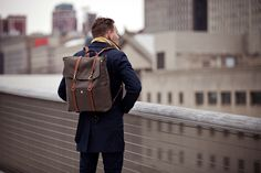 The age old question, does size really matter? Yes, well it depends on what you're talking about. However, in most cases it absolutely matters. #canvasbackpack