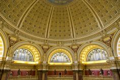 Library of Congress Washington DC [OC] [2048 x 1365]. wallpaper/ background for iPad mini/ air/ 2 / pro/ laptop @dquocbuu