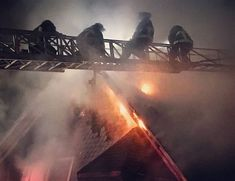 @markchera - They had two alarms last night in Roxbury. Photo by BFD. . If you want to compare to that PA fire with one person on duty a two-alarm in Boston is 13 fire trucks and five chiefs all arriving within about 10 minutes. Sixty people more or less.