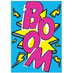 20 Trendy Ideas For Pop Art Design Poster Roy Lichtenstein Pop Art Patterns, Pattern Art, Pattern Design, Pattern Ideas, Comic Kunst, Comic Art, Pop Art Boom, Pop Art Decor, Pop Art Fashion
