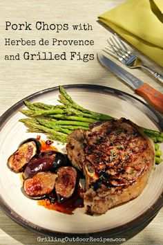 pork chops with figs - vert