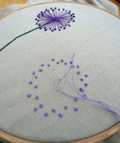 Wonderful Ribbon Embroidery Flowers by Hand Ideas. Enchanting Ribbon Embroidery Flowers by Hand Ideas. Ribbon Embroidery Tutorial, Hand Embroidery Stitches, Silk Ribbon Embroidery, Fabric Ribbon, Hand Embroidery Designs, Embroidery Techniques, Embroidery Kits, Cross Stitch Embroidery, Flower Embroidery