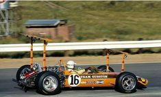 John Love - Team Gunston Lotus-Ford 49 - 1969-Kyalami Lotus F1, Grand Prix, Vintage Sports Cars, Vintage Racing, Vintage Cars, Sport Cars, Race Cars, Formula 1 Car, Motosport