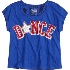 Embellished Sports Tee sports ($6.67) ❤ liked on Polyvore featuring kids clothes