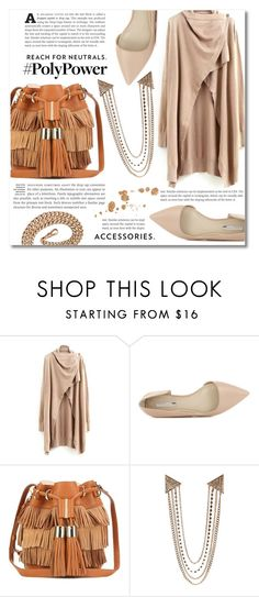 """""""What's Your Power Outfit?"""" by dolly-valkyrie ❤ liked on Polyvore featuring BCBGeneration, See by Chloé, Boohoo and PolyPower"""