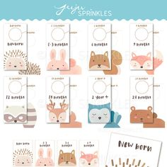 These Woodland Baby Closet Dividers and Labels will keep your nursery closet tidy and spark joy. They are perfect for you or as a gift for any mom.