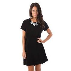 Embellished Short Sleeve Dress - Fashion Union $32.99 Target