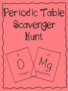 Fun elemental mystery activity element periodic table atom jr high this is a great way to get students familiar with the periodic table after learning the urtaz Images