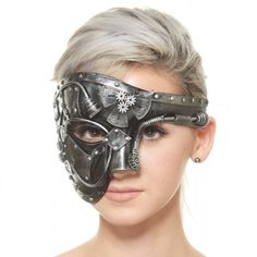 Steampunk Inspired Mardi Gras Masquerade Mask Brand New! Accessories