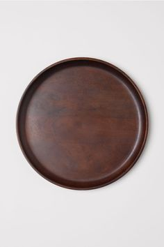 Large wooden tray - Dark brown - Home All | H&M US 2