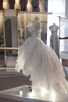 Haute Couture Christian Dior Full Skirt Dress And Full Skirts